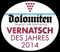 Dolomiten Vernatsch des Jahres 2014